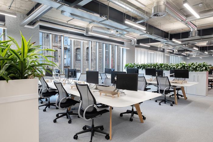 出色的办公室室内装修有个单独自主创新的逻辑