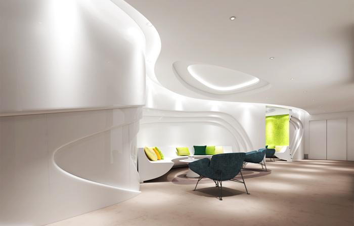 1800平米金融公司办公室装修效果图
