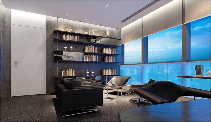 500平办公室设计办公室最佳风水座位