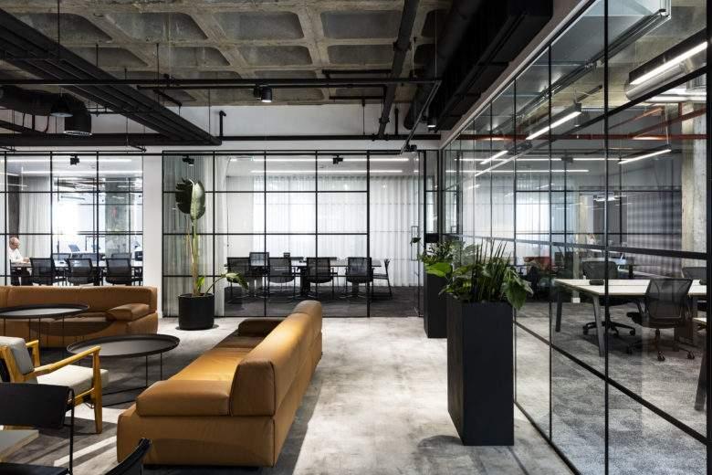 现代办公空间由哪些部分组成