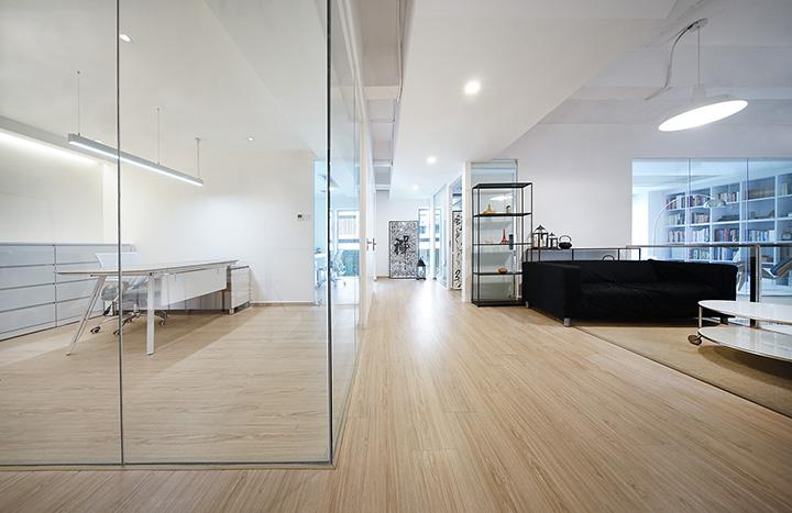 嘉定办公室装修-创意办公室设计装修效果