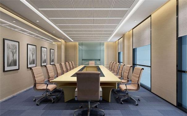 上海办公室装修之会议室设计注意事项