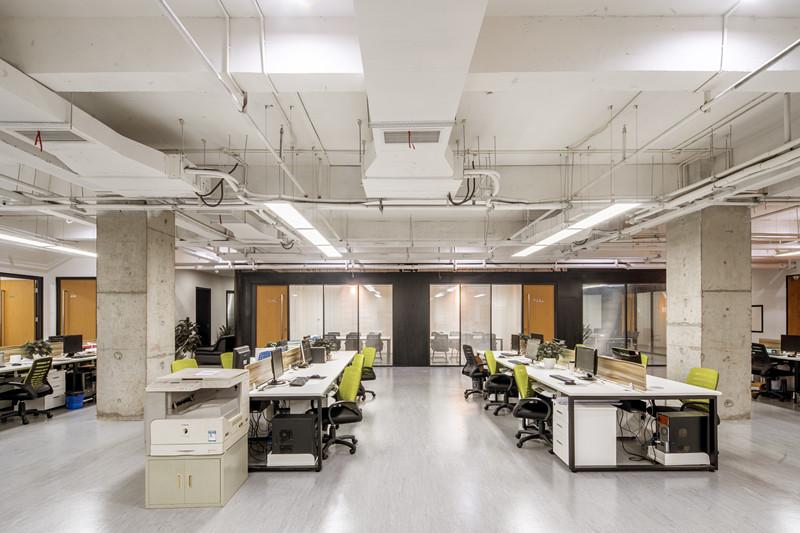 嘉定马陆1800平方米办公室装修效果