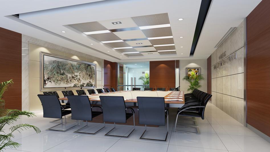 中型会议室设计装修效果图