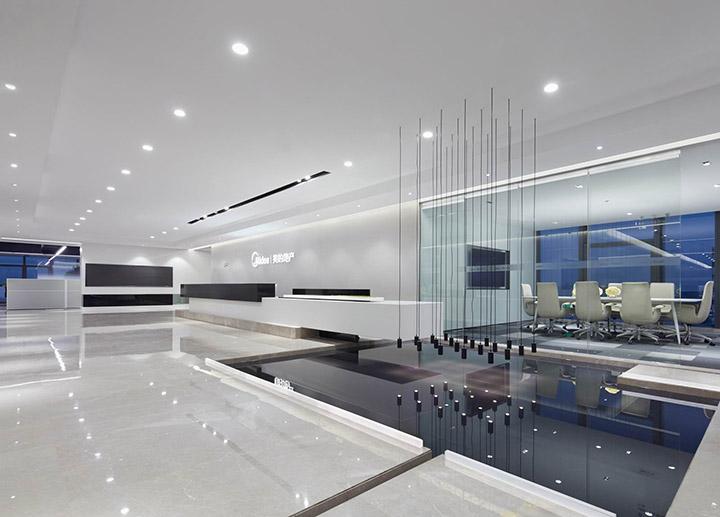 嘉定江桥镇2600平米办公室装修效果图
