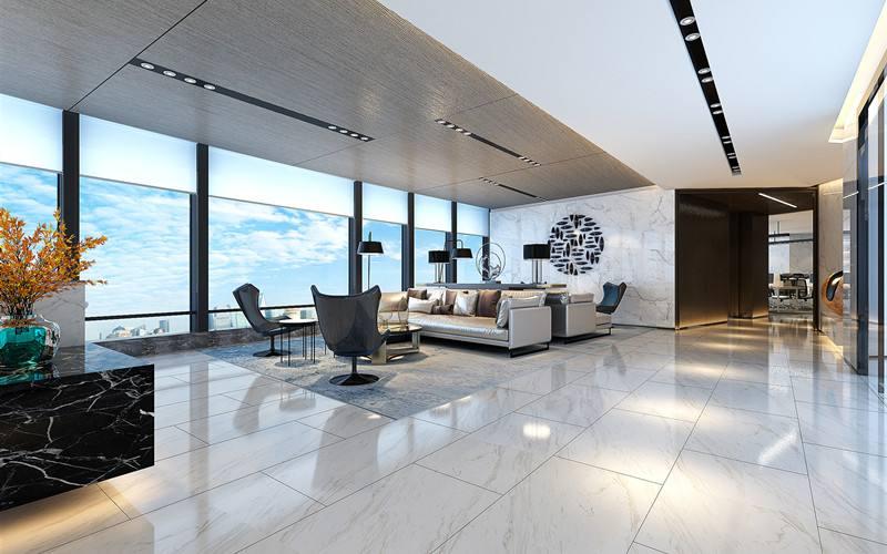 黄浦办公室设计_通过这两个点装修设计高端办公