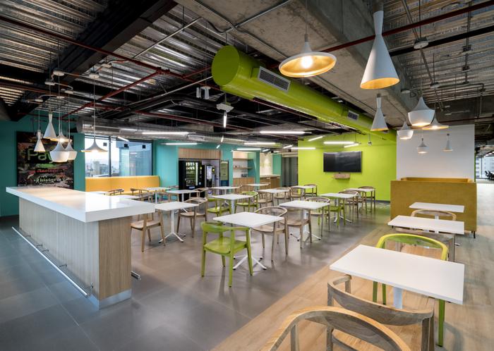 上海办公室装修公司设计创意风格办公室