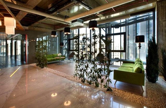 长宁办公室装修轻工业办公空间设计