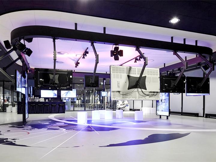 汽车配件公司4000平米写字楼装修设计图片