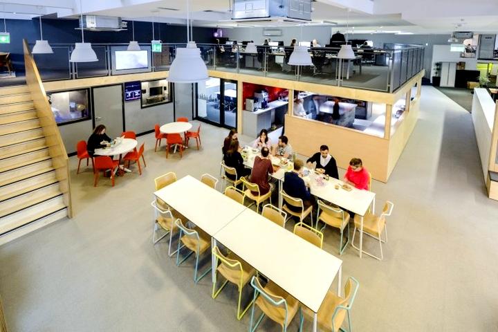 上海写字楼设计效果图之唱片公司办公室