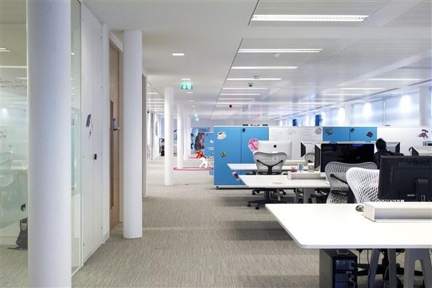社交儿童游戏公司商务楼办公室装修图片