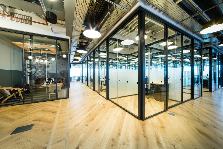 大型写字楼办公空间设计效果