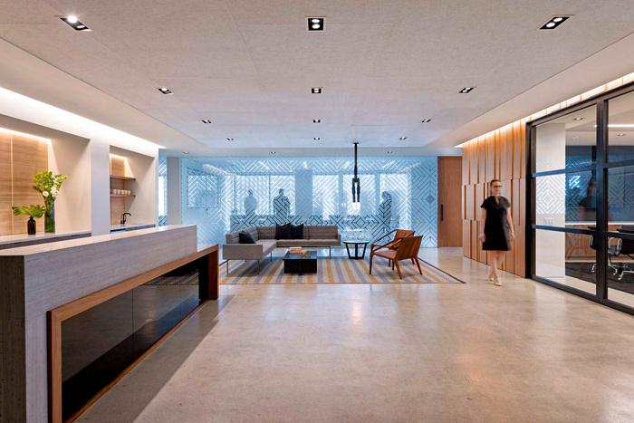 浦东办公室装修设计图片之投资公司办公室