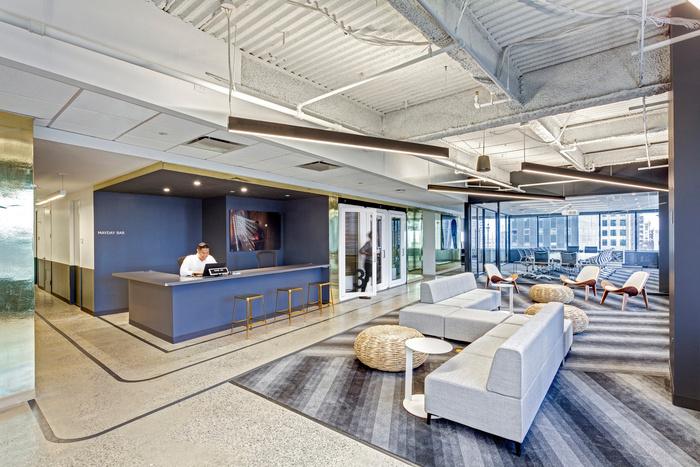 嘉定新城办公室装修效果图(创意风格)