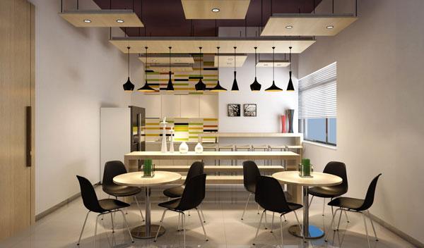 小型办公室茶水间设计效果图