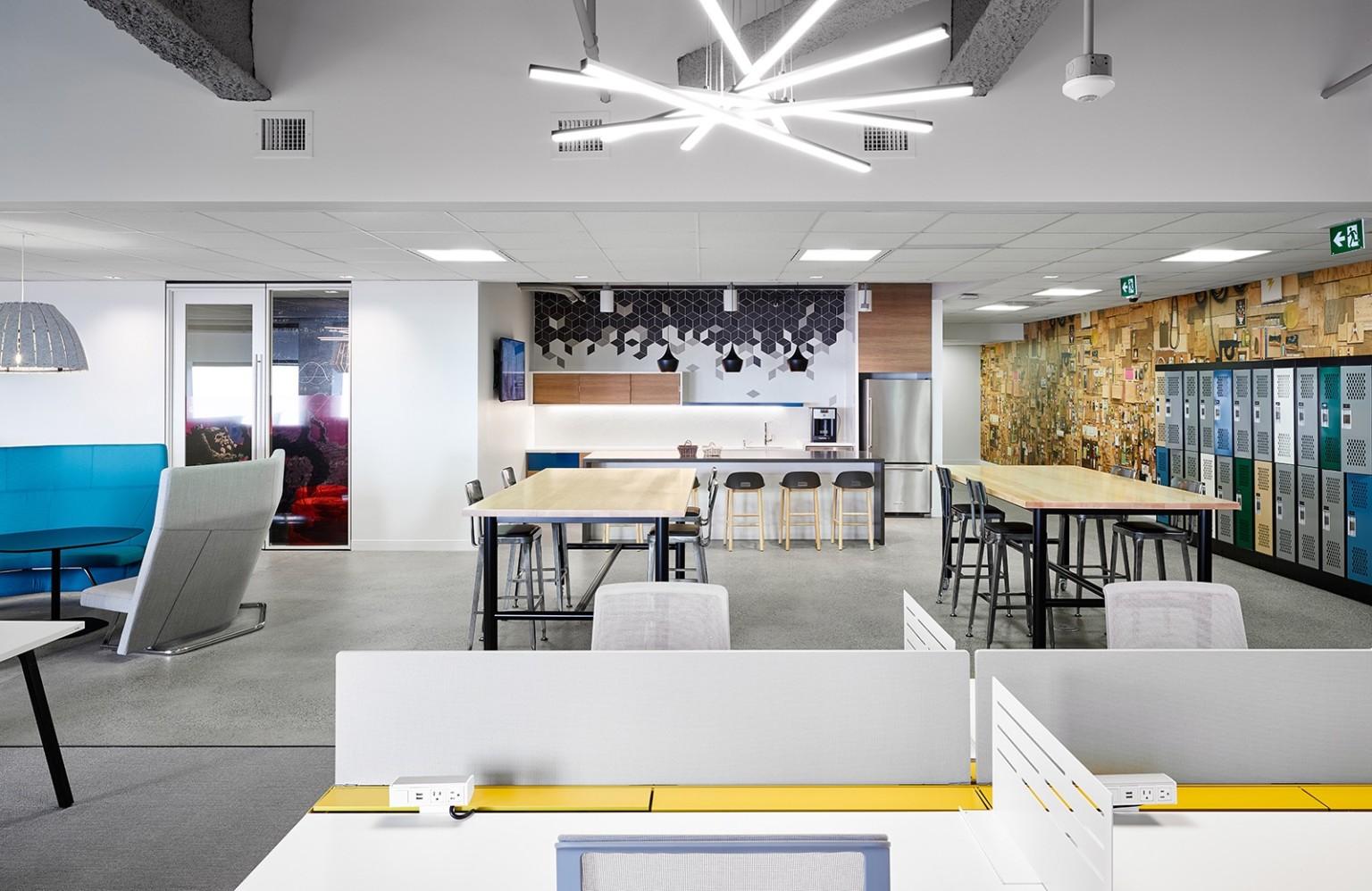 上海装修公司设计工业风格办公室设计图