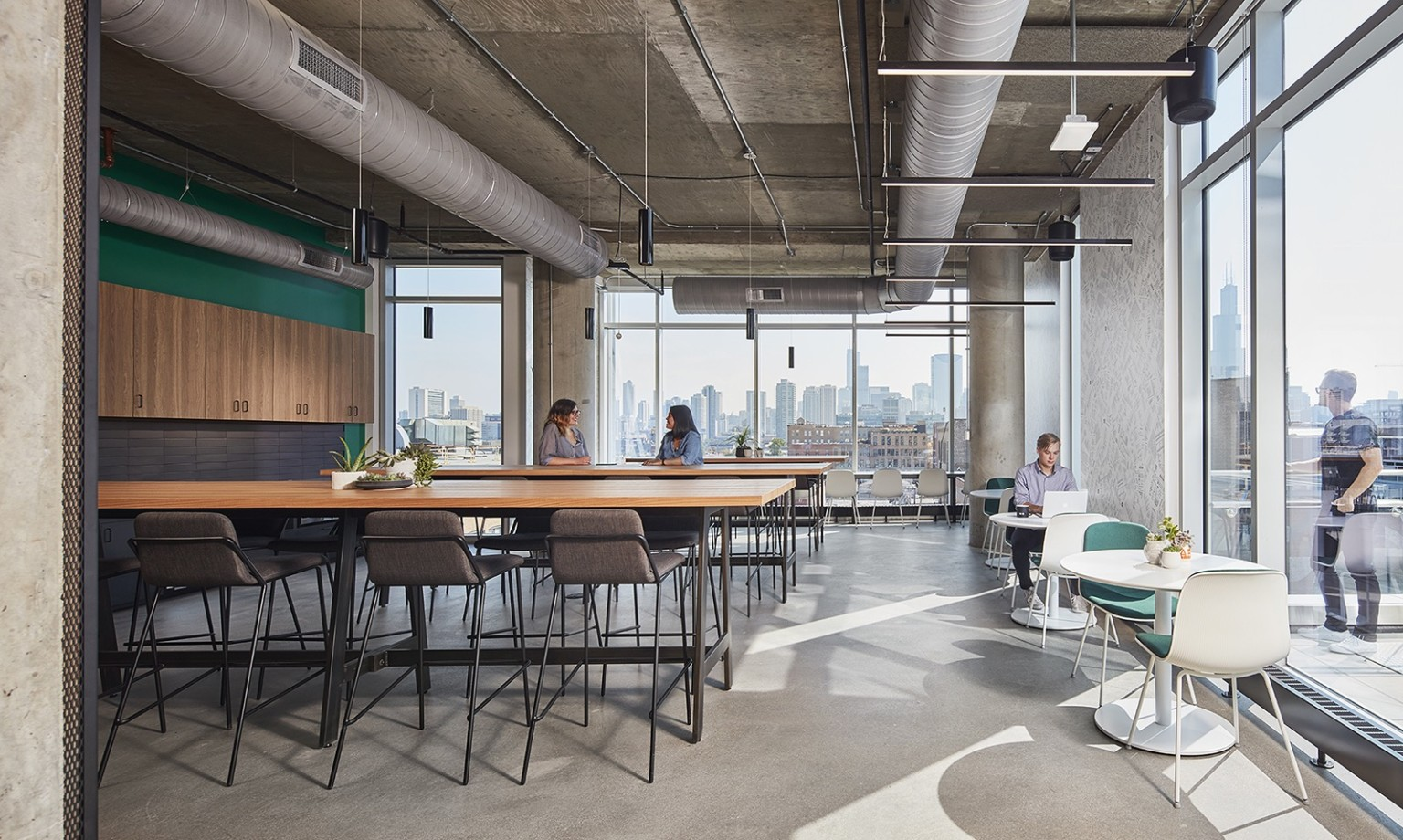 5000平米地域风情大型办公室设计图