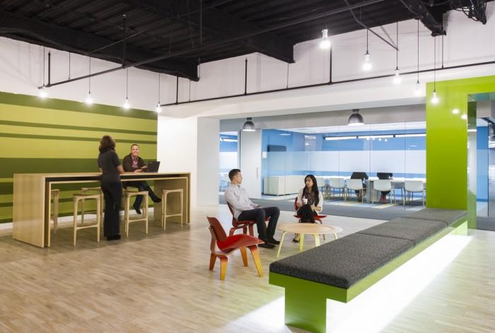 黄浦办公室装修设计图片(工联大厦)