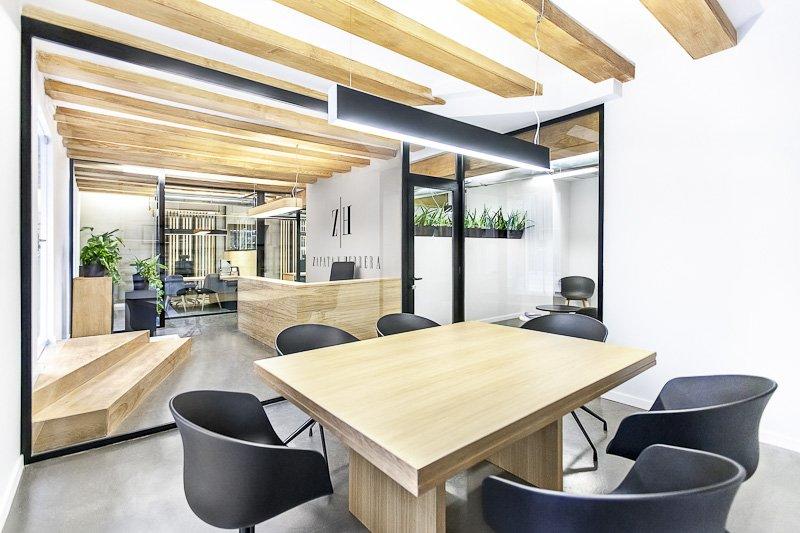 300平米时尚办公室装修效果图