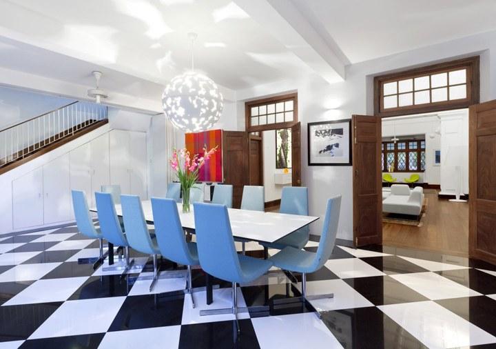 400平现代时尚办公室装修效果图