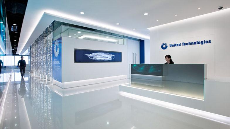 500平米科技公司时尚办公室装修效果图