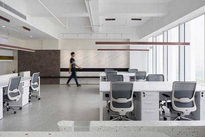微软软件公司办公室装修效果图