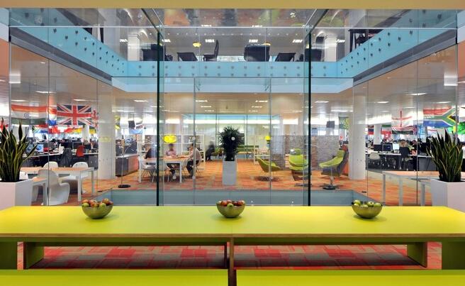 办公室设计体验中心办公空间设计效果
