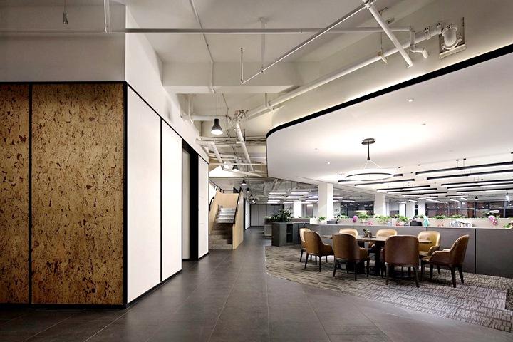 办公室装修家庭用品公司办公室设计效果