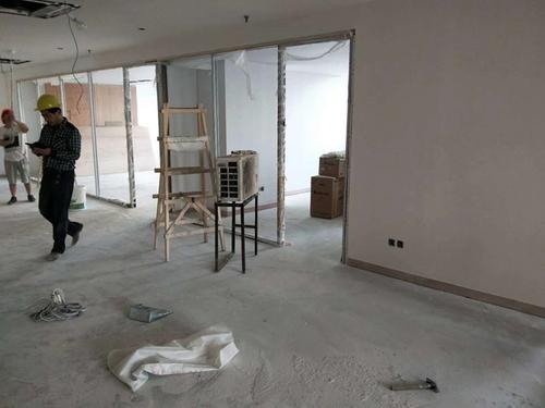 静安嘉里中心公司办公室室设计装修施工