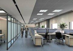 办公室装修设计中的视错觉设计