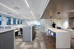 虹口软件公司办公室装修设计..