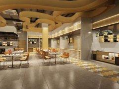 上海杨浦饭店装修艺术环境的设计