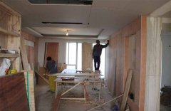 闵行办公室装修吊顶施工现场反馈