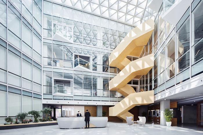 集团总部办公楼入口大堂设计方案