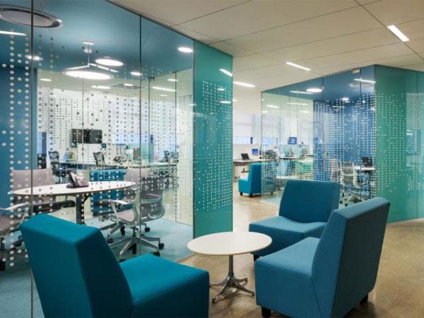 辦公空間設計色彩——浪漫的藍色