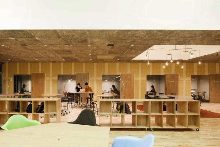 上海办公室设计公司 微型城市,綜合辦公