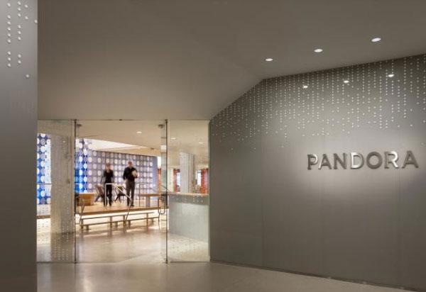 潘多拉創意辦公空間設計大廳
