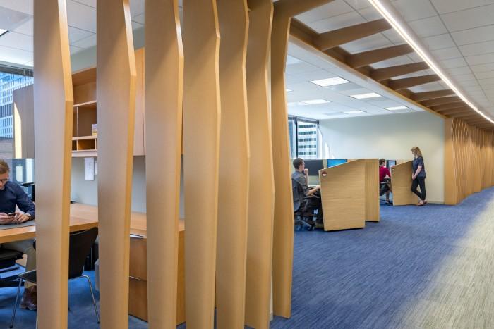 優雅的個性辦公空間設計