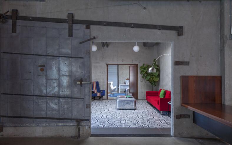 辦公空間設計師大量使用SOHO的設計語言