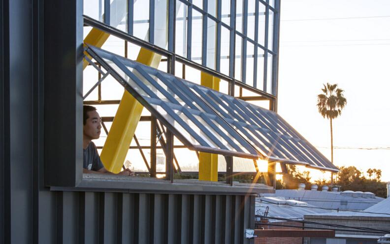 觀景屋頂由辦公空間設計師改造而來
