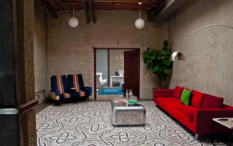 富有創意的客戶休息室設計