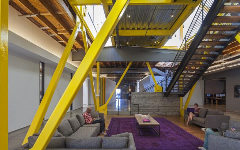 SOHO風貌的特色辦公空間設計