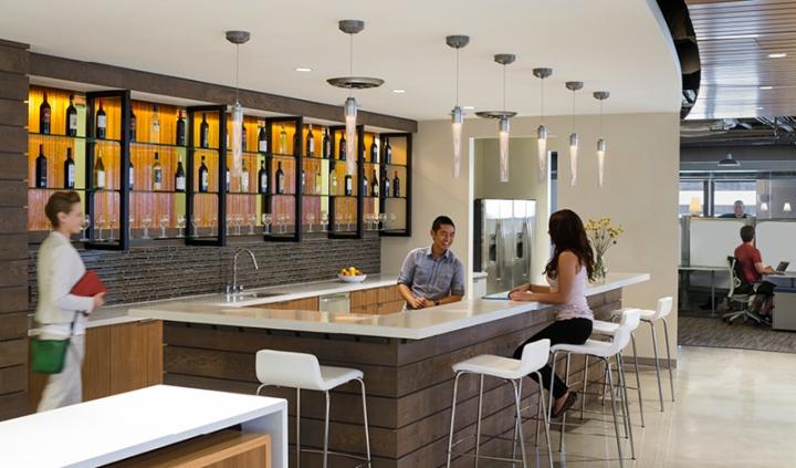 酒吧式辦公空間規劃
