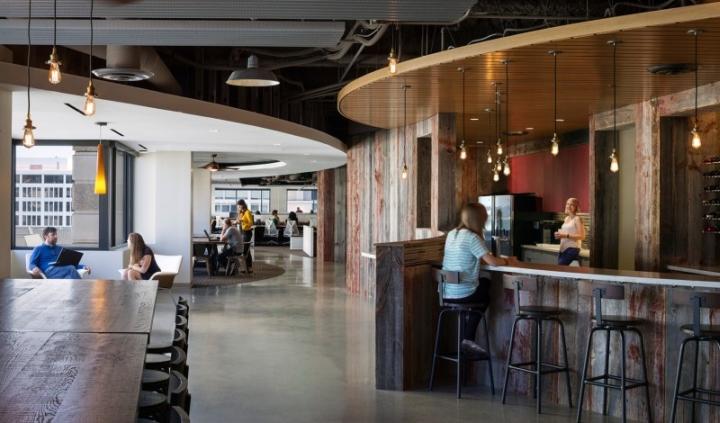 濃濃的酒吧式個性辦公空間即視感