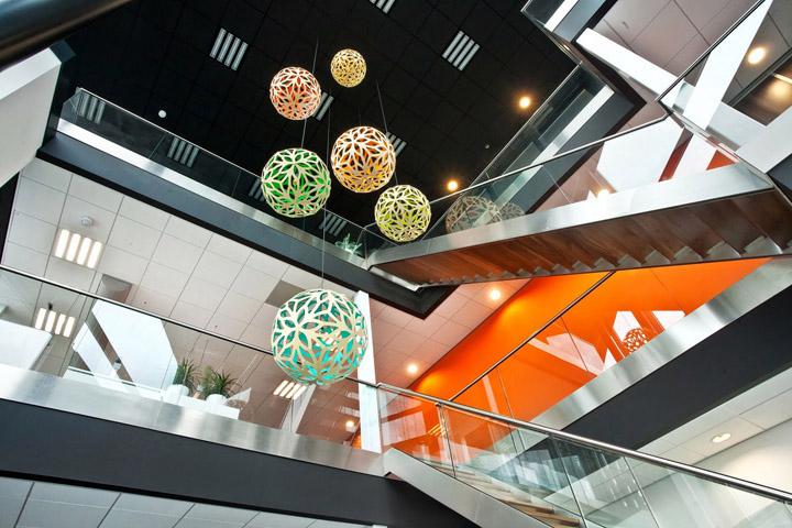 創意辦公空間設計帶來美的享受