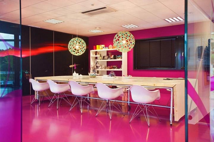 將家的理念深刻貫徹到辦公間設計