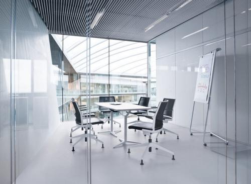 辦公空間設計手法表現了德國對工藝上的高要求