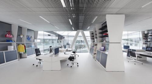 融入了品牌精神的辦公空間設計