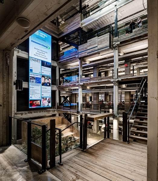 極富歷史主題的辦公空間設計