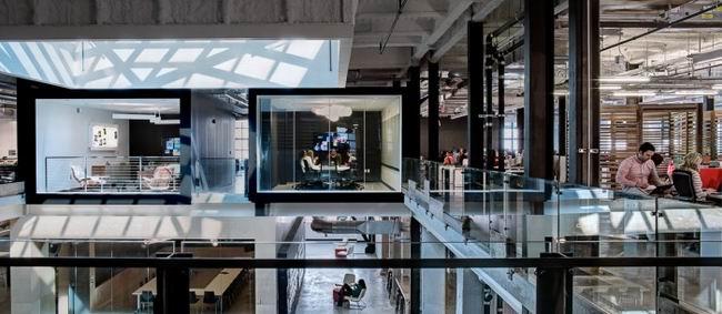 現代化的設計助力整個辦公空間設計主題